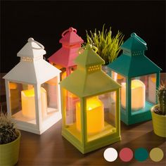 The lantern with LED candle is just the thing to create an intimate and cosy atmosphere! It is also pefect to decorate your home. Made of plastic. Lampe Led Rechargeable, Led Lampe, Candle Lamp, Led Candles, Sweet Light, Prices Candles, Bougie Led, Led Fluorescent, Modern Led Ceiling Lights