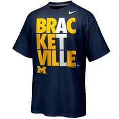 Michigan Wolverines March Madness Bracketville T-Shirt