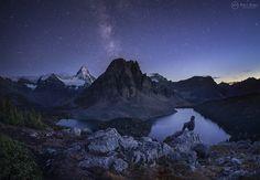 Photograph Assiniboine Dreams by Paul Zizka