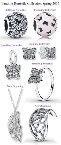 Pandora Spring 2015 Butterfly Collection