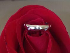 Tiffany and Co Etolie Platinum Diamond Band 0.22ct Size 6 RRP $3550
