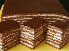 Druh receptu: Sladkosti - Page 63 of 326 - Mňamky-Recepty. Russian Cakes, Russian Desserts, Russian Recipes, Pastry Recipes, Cake Recipes, Dessert Recipes, Cooking Recipes, Just Desserts, Delicious Desserts