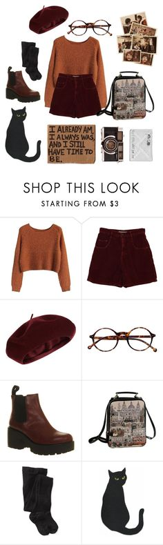 """""""Travelling north, travelling north to find you Train wheels beating, the wind in my eyes"""" by emily-of-the-wolves on Polyvore featuring Accessorize, Retrò, Vagabond and Smartwool"""
