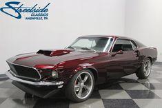 eBay: Ford Mustang Restomod BUILT 408CI STROKER MOTOR, 5 SPEED MANUAL, SLICK METALLIC PAINT, 1,600 MILES! #fordmustang #ford