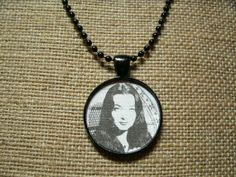 Morticia Addams Necklace by UnearthlyTreasures on Etsy, $10.00