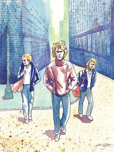 The Police by *jackieocean on deviantART