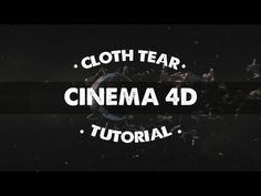 Create an Amazing Cloth Tear Animation in Cinema 4D (A Cinema 4D Tutorial) - YouTube