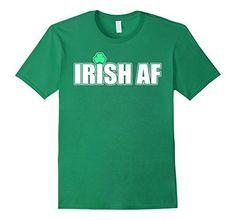 Men's Irish Af T Shirt 3XL Kelly Green Irish NonTee