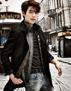 Kim Woo Bin ♡ #Kdrama // Giordano Summer 2014