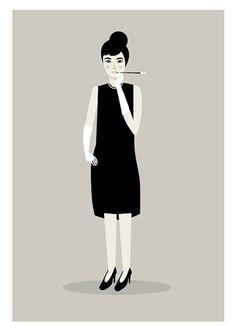 Judy Kaufmann Illustration print @Ashley Aitken