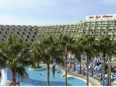 Hotel/Apartaments Royal Mediterráneo, Platja de Sa Coma, Illa de Mallorca Agost 1986