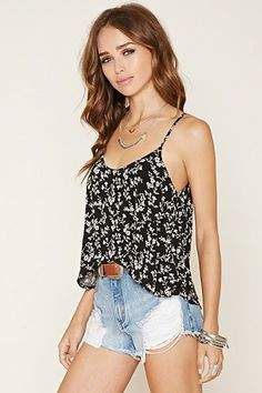 Floral Layered Cami