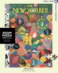 Ornaments – New York Puzzle Company. 1000 piece puzzle.