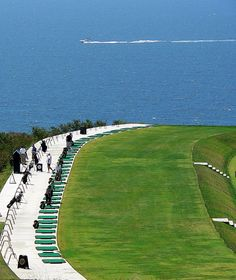 Driving Range at Donald Trump's Golf Course - For Shame by casual clicks, via Flickr
