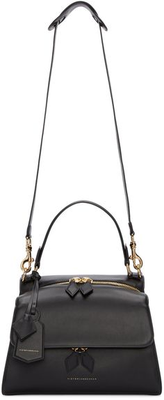 Victoria Beckham - Black Small Full Moon Bag