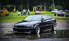 BMW E46 3 series black