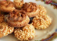 Ricetta biscotti di mandorle all'anice