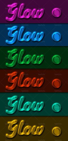 Transparent Glow Layer Style by *Textuts on deviantART