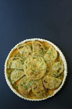 Fried Green Tomato Pie - I am so drooling for this pie!