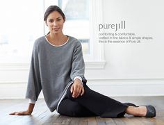 Pure jill ultrasoft kimono-sleeve sweater | www.jjill.com