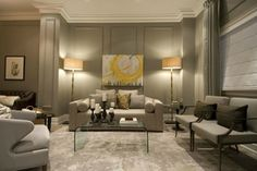 How to Make Your Living Room Look Expensive (without spending a fortune!): Decorative Molding