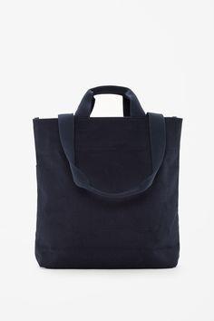 Cotton twill tote bag