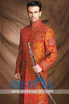 Designer Groom Sherwani  Jodhpuri Suits and Achkans  by www.dressrepublic.com