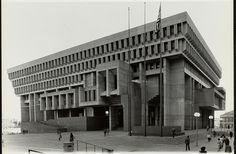 Boston City Hall — photo by Boston Public Library, via Flickr
