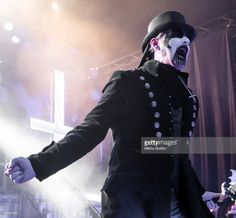 King Diamond performs at The Warfield Theater on November 2, 2015 in San Francisco, California.