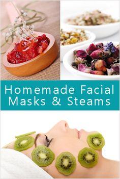 DiY: Homemade Facial Masks & Steams