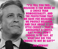 Swoon - I love me some Jon Stewart