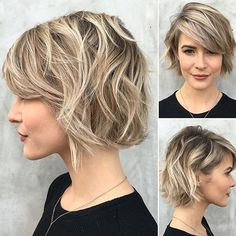This has everything. Beautiful cut, color & style by @riawnacapri #unitehair…