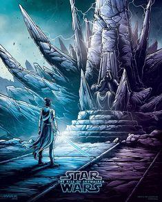 Starwars, Star Wars Jedi, Star Wars Art, Star Trek, Lorde Sith, Carrie Fisher, Luke Skywalker, Dan Mumford, Nave Star Wars