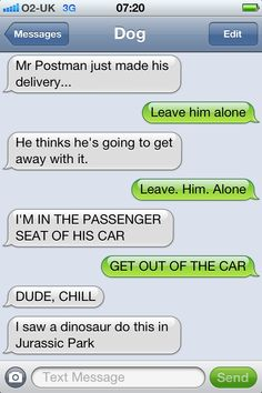 'Texts From Dog' - Our Favourites So Far