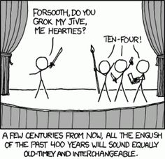 Obsoletus vocabularium, or: Up with Archaism!
