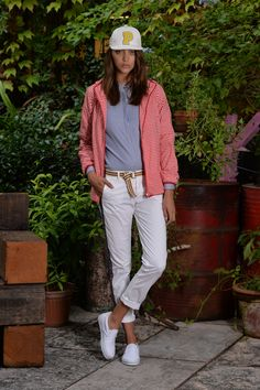 During Milan Fashion Week,  #Peuterey presented the new SS15 collection in the beautiful Spazio Rossana Orlandi' s garden.