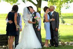 #Bride #Groom and #Parents #weddingkisses