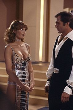 """Pamela Susan Shoop """"Tangie"""" and Gil Gerard """"Buck Rogers"""" -- Buck Rogers in the Century """"Vegas in Space"""" Erin Gray, Sci Fi Tv Series, Sci Fi Tv Shows, Buck Rodgers, Science Fiction, Classic Sci Fi, Vintage Tv, Sci Fi Movies, Celebs"""