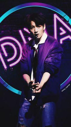 Resultado de imagen para BTS || DNA LOCKSCREEN