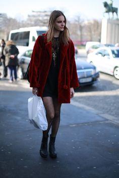 Street Style: Tilda Lindstam's Vintage Look