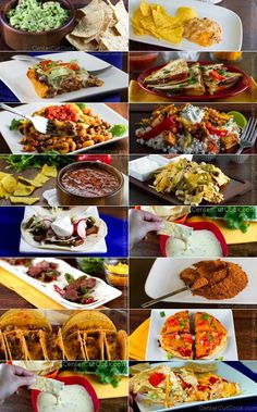 16 Recipes for Cinco De Mayo - everything you need to plan a Mexican Fiesta!