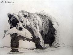William AJ Lemos - Bear Sketch