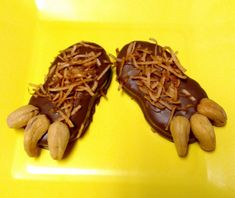 Nutter Butter Sasquatch Monster Feet! Had to make these just a little different! Monica : )