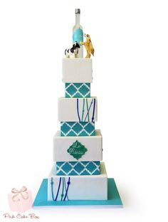 All Wedding Cakes - Custom created for your special day! » Pink Cake Box Custom Cakes & more
