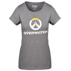 Overwatch Logo Shirt (Grey) - Women's