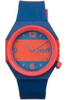 Neff - Stripe Blue/Red Watch