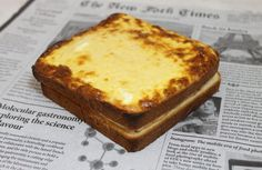 Le croque-monsieur vu par nos chefs Chefs, La Trattoria, Look And Cook, Pizza Cake, Alain Ducasse, French Dishes, Lunch Meal Prep, Mediterranean Recipes, Banana Bread