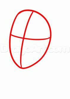 how to draw a simple anime girl step 1