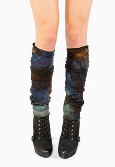 EON Hand Dyed Leg Warmers