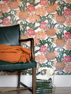 Mr. Chrysanth wallpaper available exclusively at walnut wallpaper #wallpaper Abigail Borg
